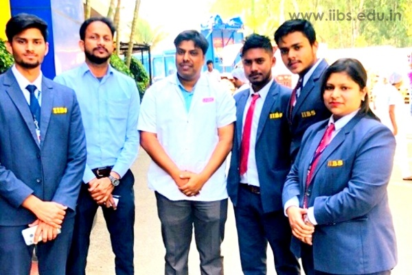 Industrial visit to UNIBIC Cookies Co. by IIBS MBA Students