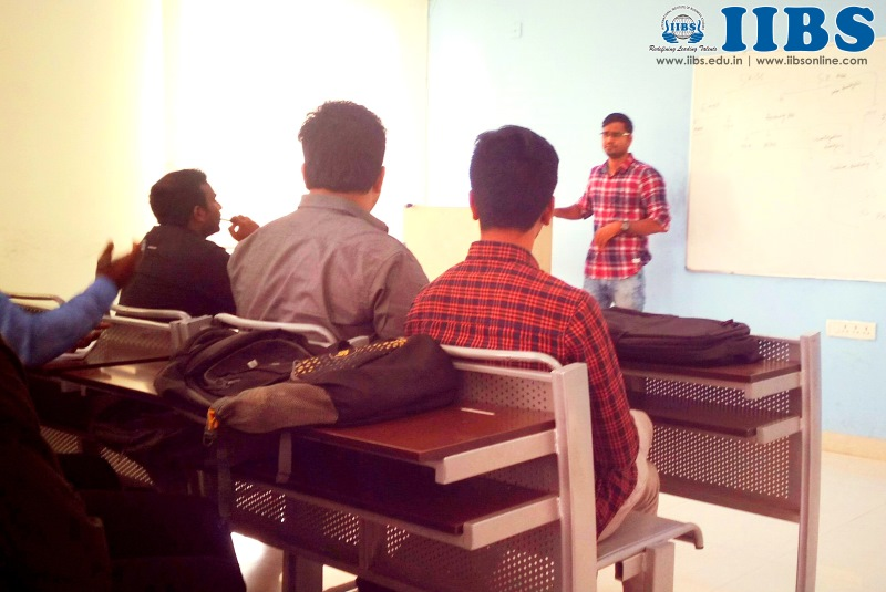 Alumni Guest Lecture on Career Planning by Krishna Nandan at IIBS Bangalore