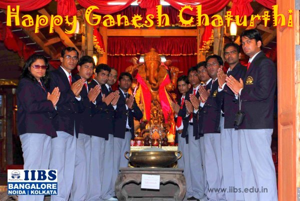 Happy Ganesh Chaturthi - IIBS Business School