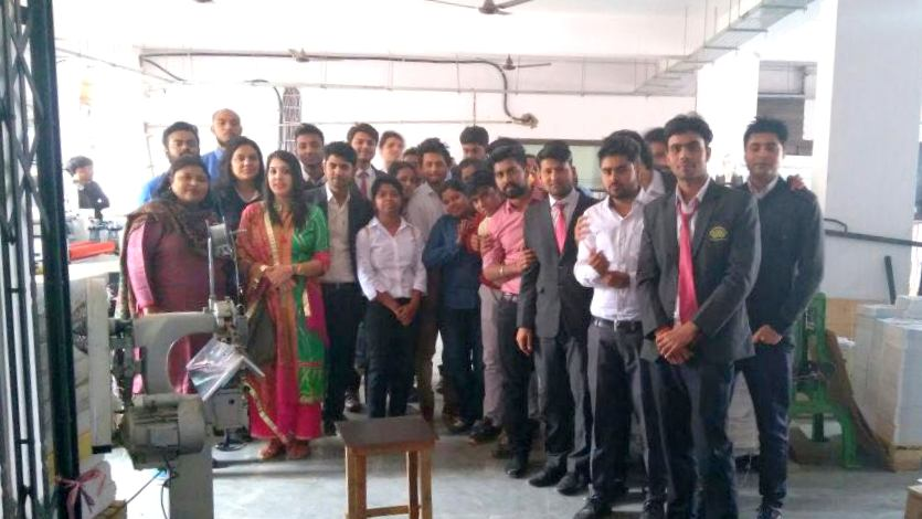 Industrial visit MBA Students to Acme Tradex India Pvt. Ltd - IIBS Noida