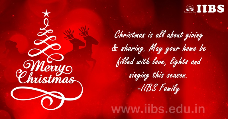 Greetings from Santa and IIBS Family!