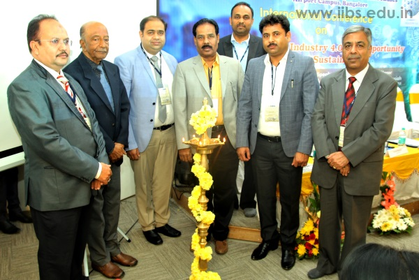 Int'l. Conference on Disruption in Industry 4.0 at IIBS Bangalore