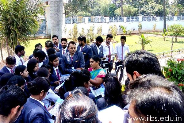 IIBS organized an Industrial Visit for MBA Student to KMF Dairy Bangalore