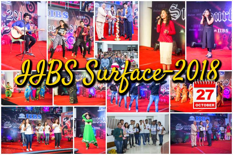 IIBS Surface-2018: Much Awaited Collegiate Fest is Back Again