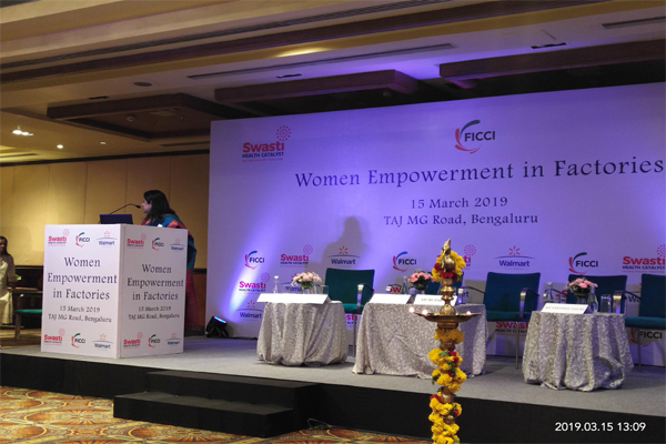 Women Empowerment in Factories - a workshop was organised by FICCI | IIBS, Bangalore
