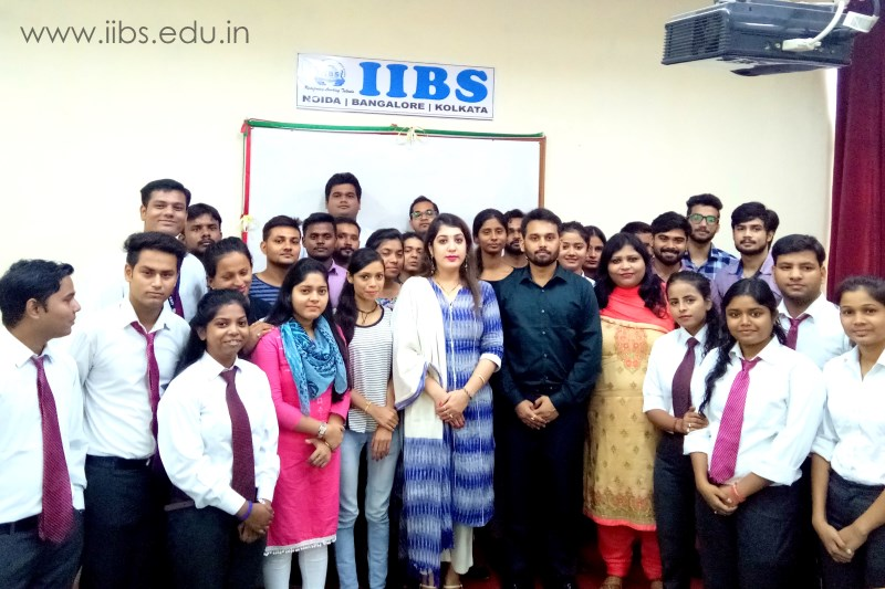 A Session on GST - A Game Changer Conducted at IIBS Noida