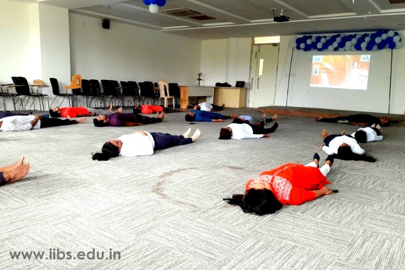 International Yoga Day Programmes Conducted by IIBS Bangalore Rotaract Club