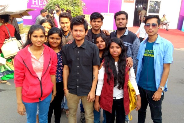 IIBS Students Visit the India International Trade Fair (IITF) 2017