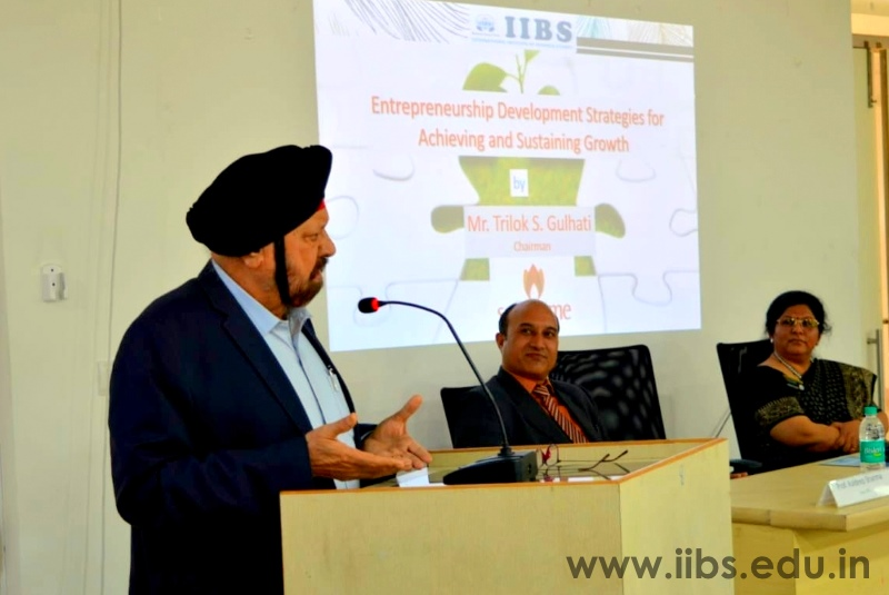 Strategies for Entrepreneurial Success Session in IIBS Bangalore