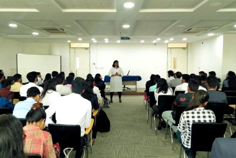 Winners of  Semi-Finals of International B-Plan Competition of IIM-K Echoes 2k19-20 at IIBS Bangalore