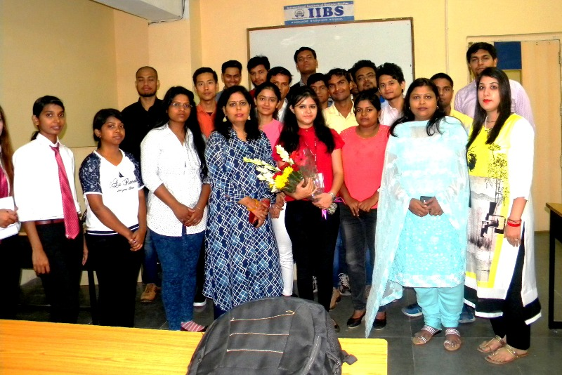 Mind Spa: a session on Personality Development at IIBS Noida